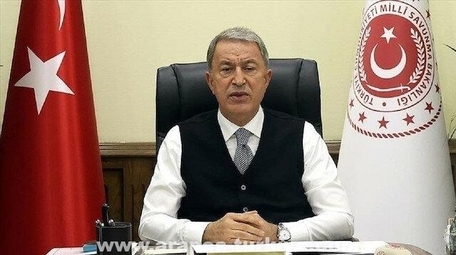 وزير الدفاع التركي: تحييد 12 إرهابيا شمالي سوريا