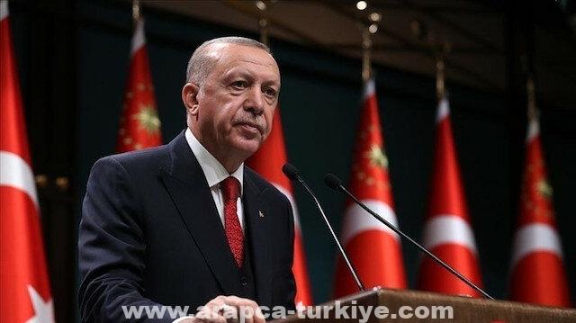 الرئيس أردوغان يتمنى الشفاء للبابا فرانسيس