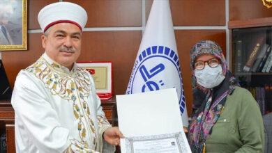 مخرجة هولندية تعتنق الإسلام خلال زيارتها تركيا