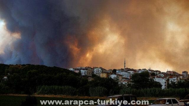 رئيس بلدية أنطاليا: 34 قرية تضررت من حرائق الغابات حتى الآن