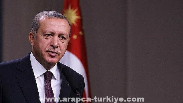 أردوغان يؤكد حشد كافة الإمكانات للسيطرة على حرائق الغابات
