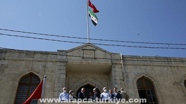 بمناسبة العيد.. وزير الداخلية التركي يزور عفرين وأعزاز بسوريا