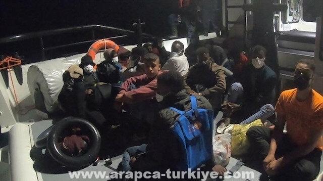تركيا.. إنقاذ 128 طالب لجوء في السواحل الغربية