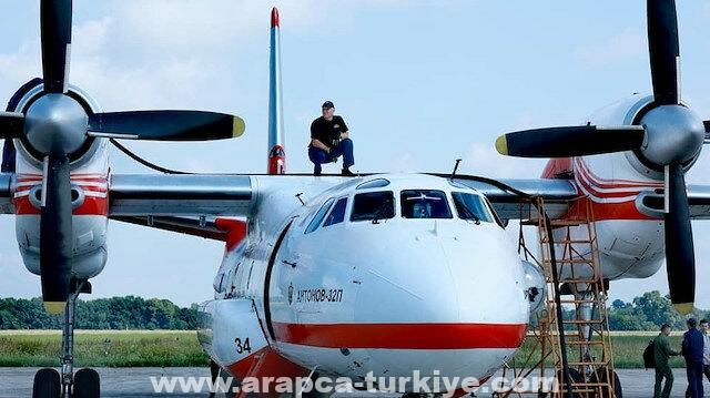 أوكرانيا تهرع لدعم جهود تركيا في إطفاء حرائق الغابات