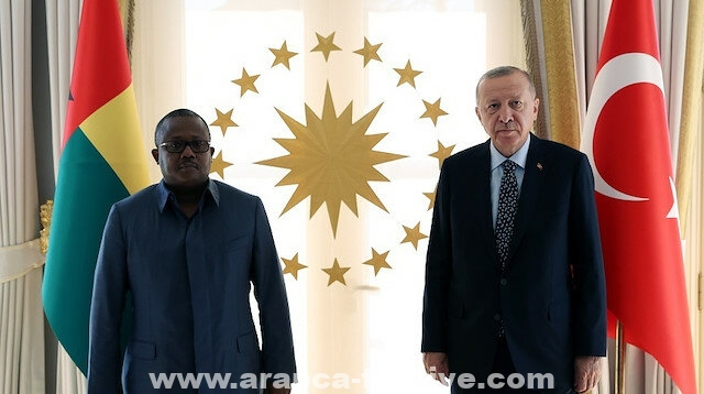 إسطنبول.. أردوغان يستقبل رئيس غينيا بيساو