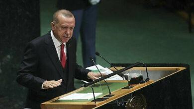أردوغان: حل الدولتين أساس لتسوية الصراع الفلسطيني الإسرائيلي