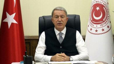 وزير الدفاع التركي: نتابع بدقة التطورات شمالي سوريا