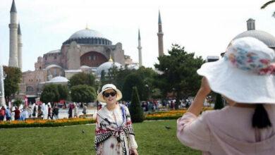 إسطنبول تستقبل قرابة 5 ملايين سائح أجنبي في 8 أشهر