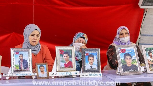 تركيا.. أمهات ديار بكر يواصلن الاعتصام لليوم الـ743