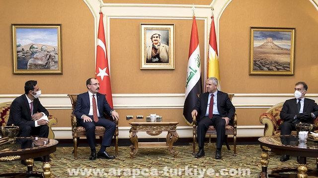 وزير التجارة التركي يعقد مباحثات في أربيل