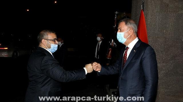 أنقرة.. أكار يلتقي رئيس المجلس الأعلى للدولة الليبي