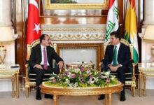 أنقرة تتفق مع أربيل على إزالة عقبات توسيع العلاقات التجارية
