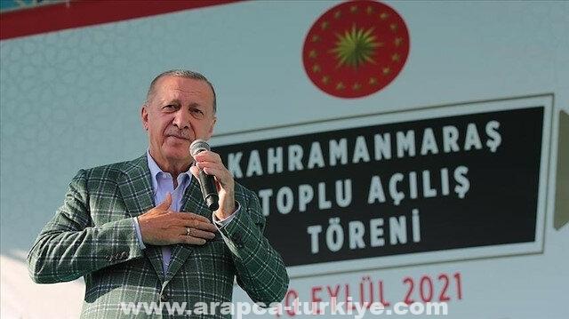 الرئيس أردوغان يتعهد بكبح التضخم وارتفاع الأسعار