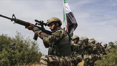 الجيش الوطني السوري يحبط محاولة تسلل إرهابيين باتجاه اعزاز