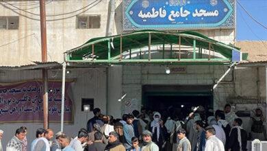 """الأناضول تحصل على مشاهد لهجوم """"داعش"""" على مسجد شيعي بأفغانستان"""